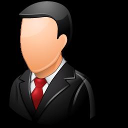 office-customer-male-light-icon