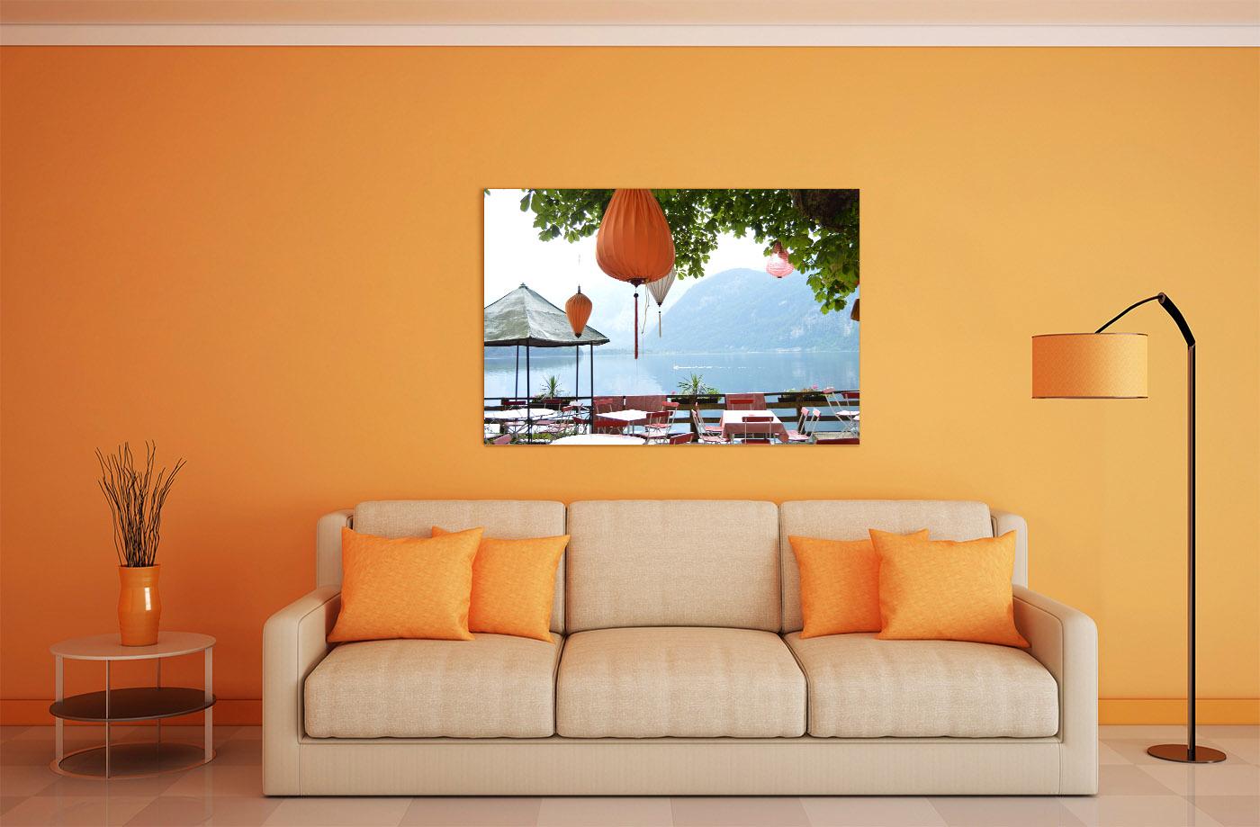 Fotoobraz na zdi