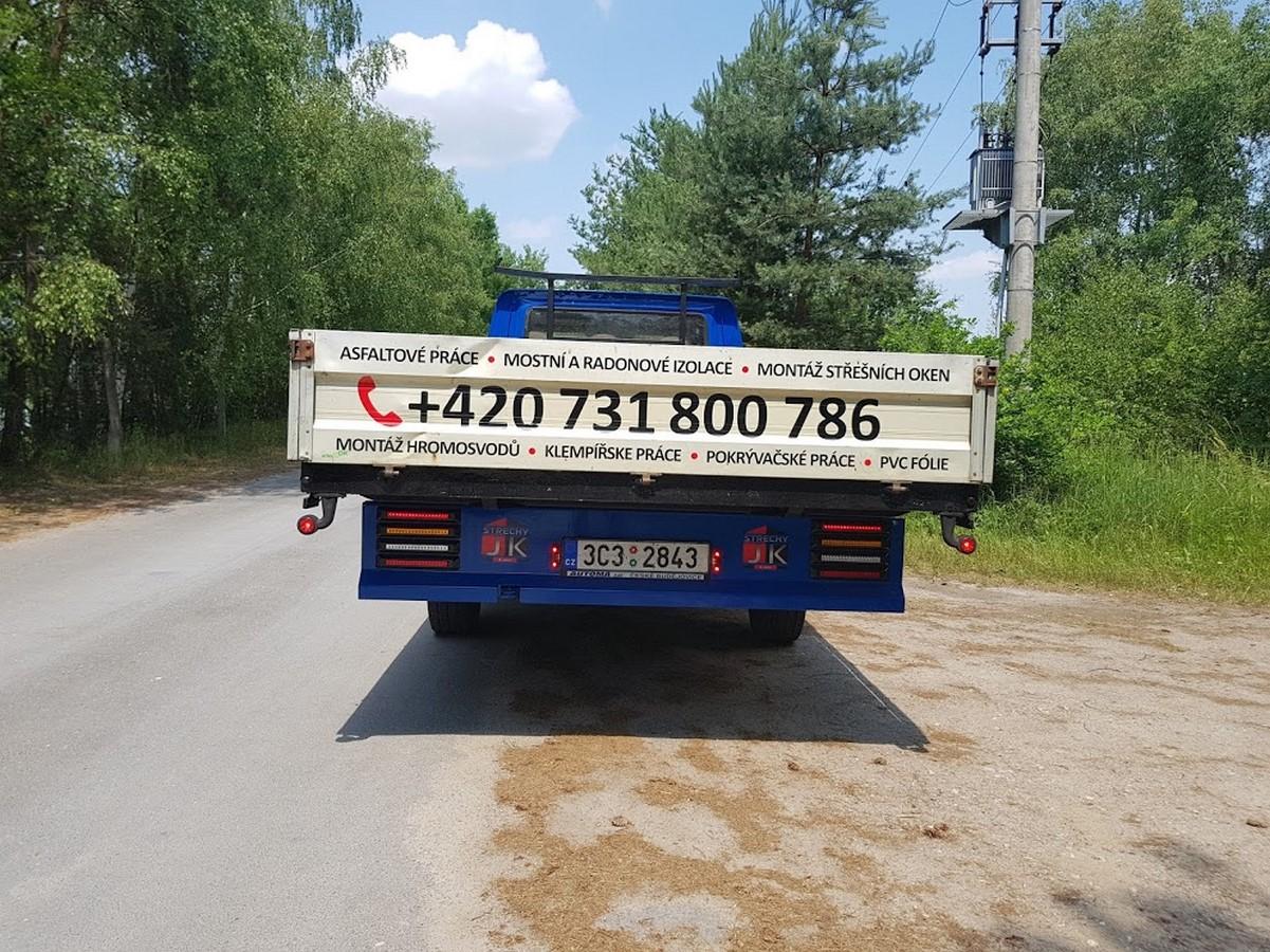 Polep vozidel