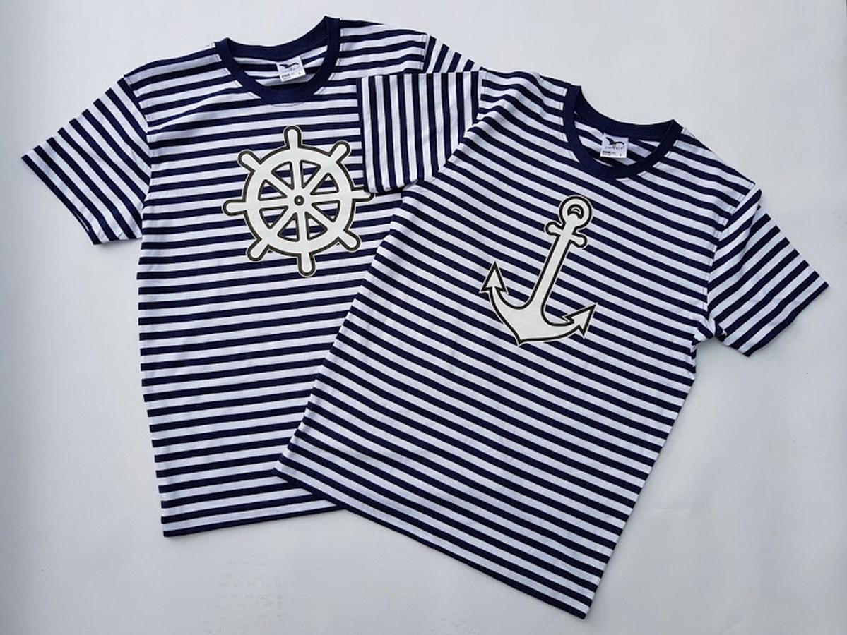 Vodátcké tričko kotva s kruhem