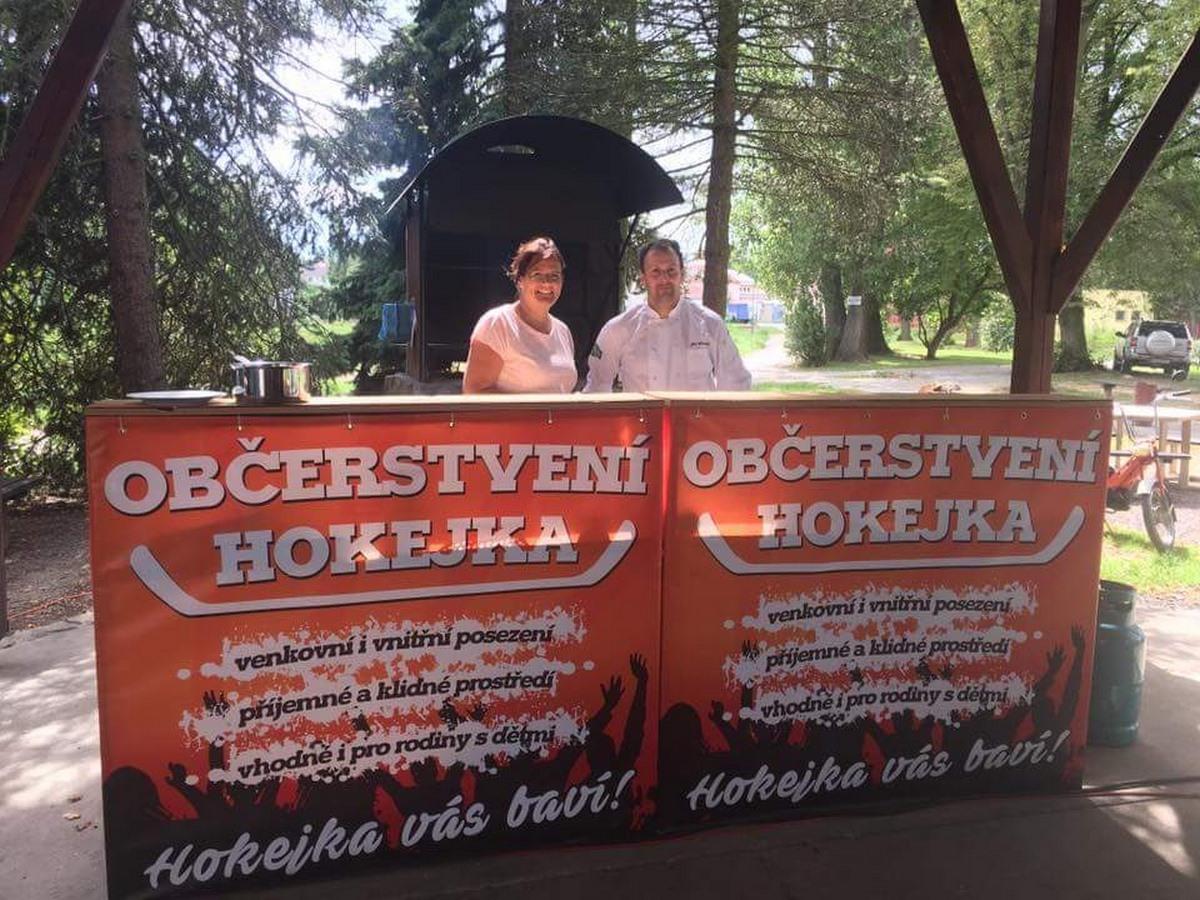 Banner Občerstvení Hokejka