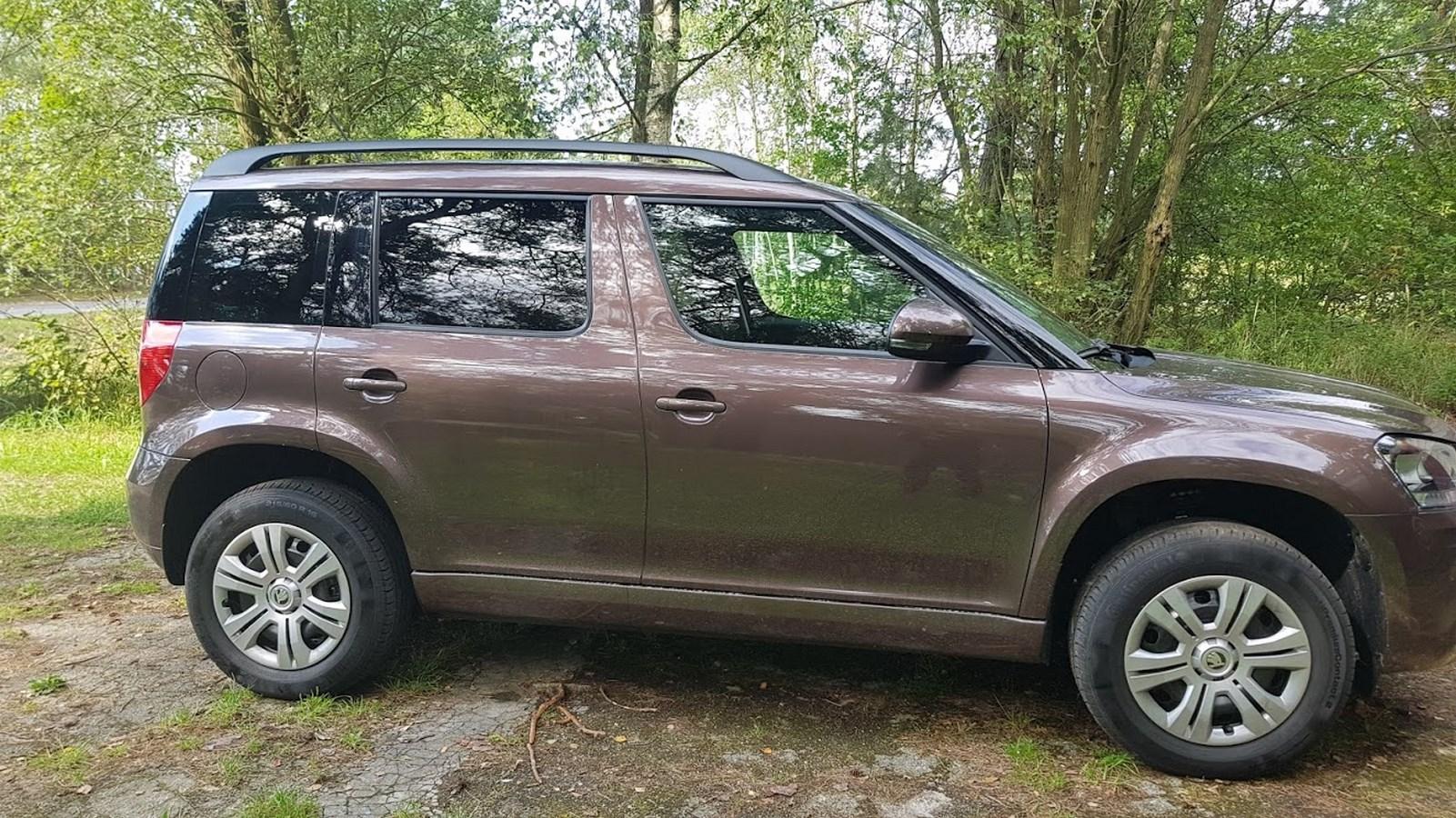 Tonování Škoda Yetti II