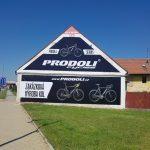 Reklamní banner Prodoli, reklamní banner, výroba bannerů, reklamní plachta, výroba reklamních plachet