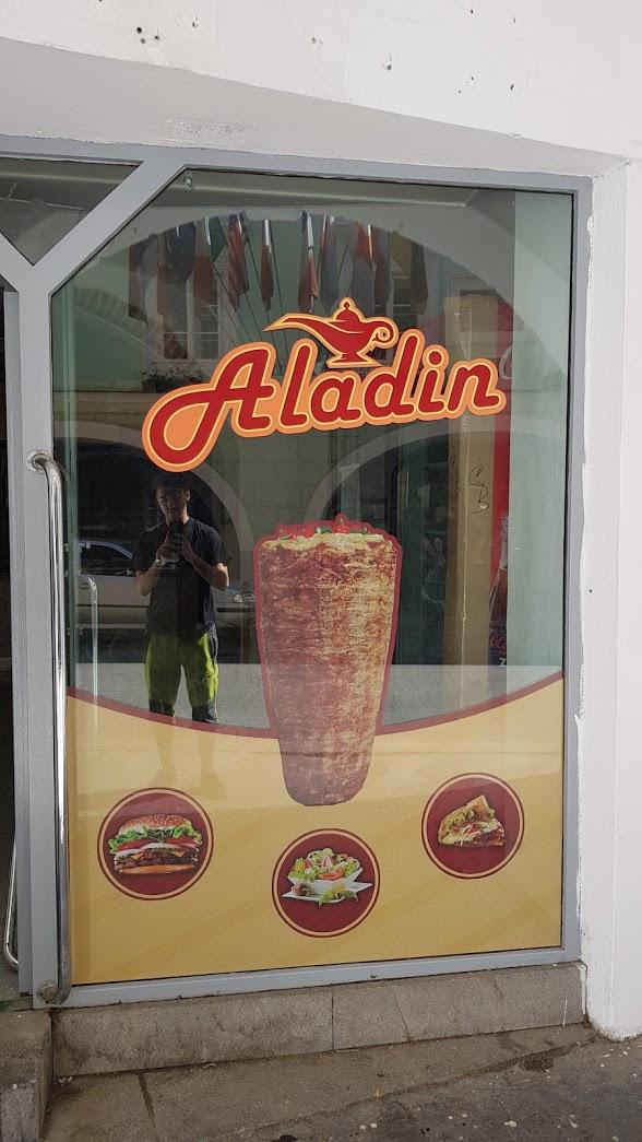 Výloha Aladin Kebab