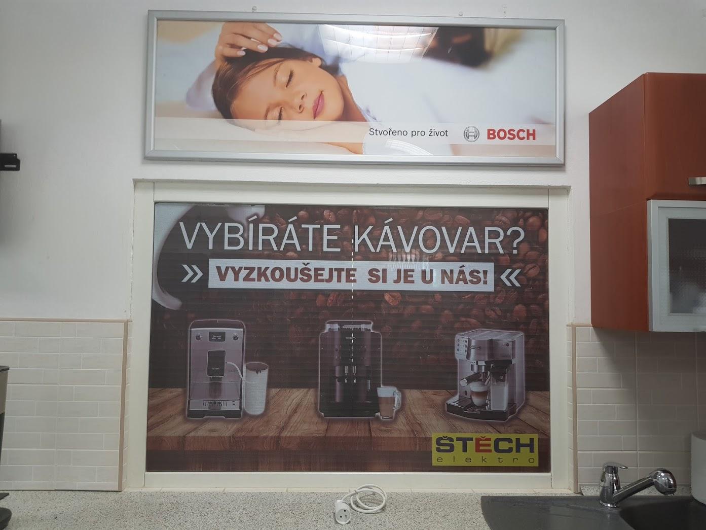 Výloha Elektro Štěch