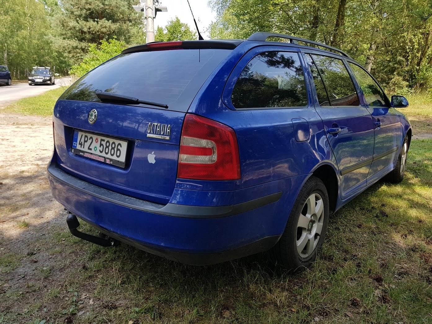 Tonování Škoda Octavia II combi