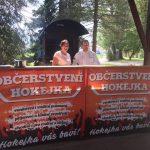Reklamní banner Hokejka, reklamní banner, výroba bannerů, reklamní plachta, výroba reklamních plachet