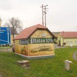 Reklamní banner pro Platan, reklamní banner, výroba bannerů, reklamní plachta, výroba reklamních plachet