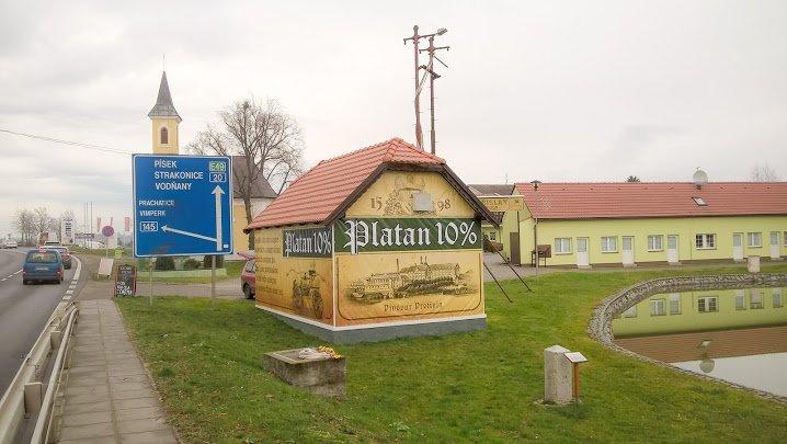 Banner hasičská zbrojnice Platan