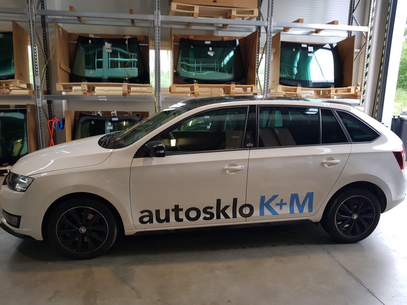 Škoda Rapid autosklo KM