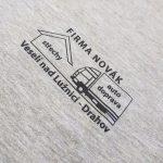 Potisk triček pro Firmu Novák